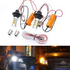 12V 50W LED Turn Signal Light White/Amber 1156 7506 BAU15S 1141 1095 7506 Base