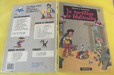 LE SORTILÈGE DE MALTROCHU N°13   ( JOHAN ET PIRLOUIT ) 1976. état médiocre