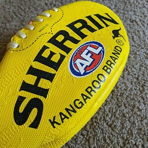 Sherrin All Surface Australian Football Synthetic Textured Rubber-feel Size 5