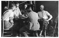 Foto Regts.-Gefechtsstand Sexey Frankreich-Feldzug 1940 Soldaten 5./A.R.171.