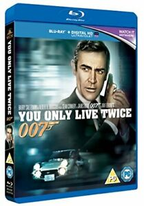 You Only Live Twice [Blu-ray] [1967] [DVD][Region 2]