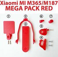 Xiaomi MI M365 M187 E Scooter MEGA PACK RED