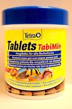 Tetra TABIMIN 275 Compresse schede per l'alimentazione inferiore Pesce Pesce Gatto e plecostomus