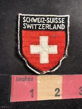 21455 Aufnäher Applikation 8x5,5 cm Stick-Emblem Flaggen der Welt ☆ SCHWEIZ ☆
