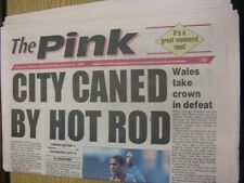 19/03/1994 Coventry Evening Telegraph The Pink: Main Headline Reads: City Caned