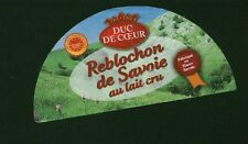 Etiquette de Fromage   Reblochon de Savoie  No 9