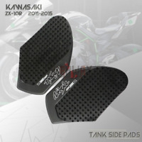 Motorcycle Tank Traction Gas Fuel Knee Side Pads for KAWASAKI NINJA ZX-10R 11-15