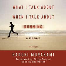 What I Talk about When I Talk about Running by Haruki Murakami 2008 Unabridged C