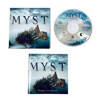 Myst CD-ROM for Windows 3.1 and Win 95 Cyan Production RedOrb Broderbund