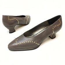ff6864b38cfe4 Leather Pumps, Classics Vintage Cuban Heels for Women for sale | eBay