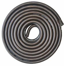 4 Gauge Wire Black Amplifier Power/Ground 4 Ga Amp Wire 25 Feet Cable Roll