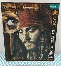 Photomosaics Puzzle Pirates Of The Caribbean Jack Sparrow With Poster