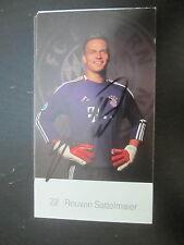 8413 Rouven Sattelmaier FC Bayern München original signierte Autogrammkarte