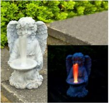 Solar Engel ,Angel ,Solarleuchte Garten,7 fach,Farbwechsel,Grabdekoration* NEU*