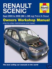Haynes Manual Renault Scenic Petrol Diesel 03-06 (4297)