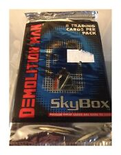 Demolition Man Movie Trading Cards (One Packet) Skybox Cards 1993
