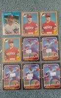 Bruce Ruffin Baseball Card Mixed Lot approx 84 cards