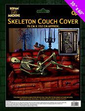 Halloween Skeleton Door Cover / Sofa Cover - Decorate Room Sofa Walls Door