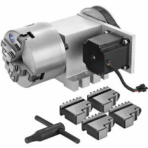 VEVOR New CNC Router Rotational Rotary Axis 4-Jaw High Quality 4th-axis Superior