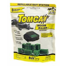 Tomcat Mouse Killer Child & Dog Resistant 8 Blocks & 1 Refillable Station