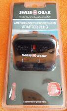 Swiss Gear American South Pacific Japan Travel Adaptor Plug N320