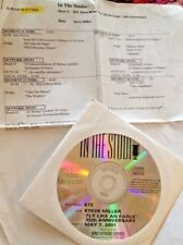RADIO SHOW: IN THE STUDIO 5/7/01 STEVE MILLER FLY LIKE AN EAGLE 25TH ANNIVERSARY
