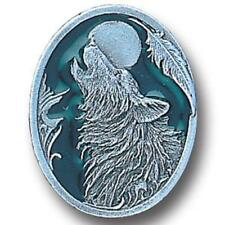 Howling Wolf Lapel Pin with Backing (NEW) Button Broach
