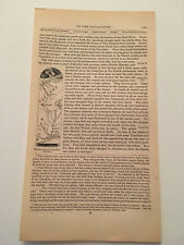 K41) Route Through The Wilderness Map American Revolution 1860 Engraving