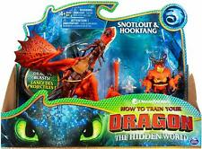 NEW  How To Train Your Dragon The Hidden World: SNOTLOUT & HOOKFANG Dreamworks