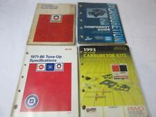 4 Vintage AC/Delco Automotive Tune-up, Vintage Carburetor, Vintage Air Condition