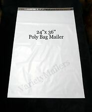 "6 Poly Bag Plastic Extra Large Envelope Mailers 24x36 GIGANTIC 24""x 36"" HUGE"