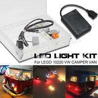 DIY LED Lumière Éclairage Kit ONLY pour LEGO 10220 VW CAMPER VAN USB Interface