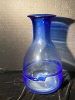 Vintage Kosta Boda Art Glass Vase Large Bertil Vallien Signed 48221