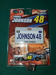 2007 Jimmie Johnson Lowes 1:64 scale car with License Plate WC Winners Circle