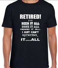 Funny Fantastic Retirement Joke T Shirt OAP All Sizes Present Free 1st Class P&P