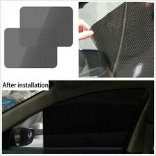 "4 Pcs 16 1/2""*15"" PVC Reusable Car Window Sun Shade Cover Screen Protective Film"