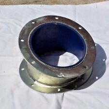 """8"""" Galv. Adjustable Elbow 22-1/2 deg., Urethane Lined, for Agricultural Spouting"""