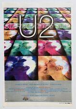 U2 1997 original Poster Advert Staring At The Sun Pop