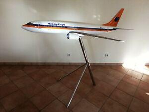 Boeing 737-800 Hapag Lloyd Modellflugzeug 1:25 Großmodell m. Metallständer
