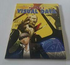 Shin Megami Tensei Persona 4 visual data Art Book