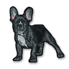 Sew-On Patches Iron Application French Bulldog M2