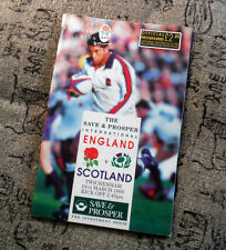 RUGBY ENGLAND v SCOTLAND - MARCH  1995 - OFFICIAL    #