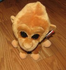 "NWT Ty Beanie Baby MONROE the Oranguta Glitter Eye 10"" Small Plush NEW"