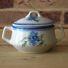 1950s Vintage Porcelain Gravy Boat Sauce boat USSR collection tableware Dulevo