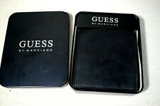 Guess by Marciano Leather Wallet Men's Black Bifold Credit Card Money Holder