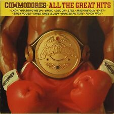 COMMODORES 'ALL THE GREAT HITS' US IMPORT LP