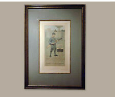 John Hassell Signed Antique Golf Print