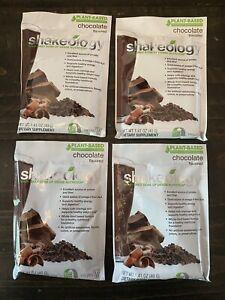*Exp 9/2021!* (4) Single Packets Shakeology Vegan Chocolate Protein Powder 🤎