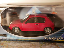 "SOLIDO PEUGEOT 205 GTI "" TUNING""  1990 ART. 8154 1:18  NEW"