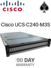 "Cisco UCS-C240-M3S 24x 2.5"" Bays 1200W PSU CTO 2U Rack Server"
